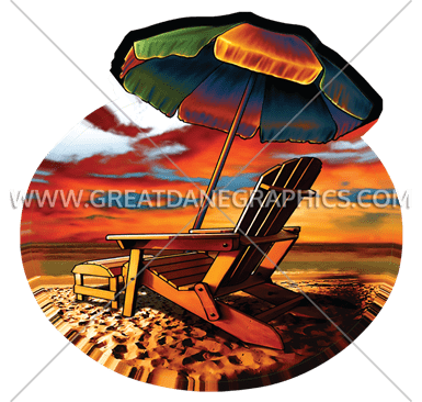 D-4163 Beach Sunset Printing/Cutting
