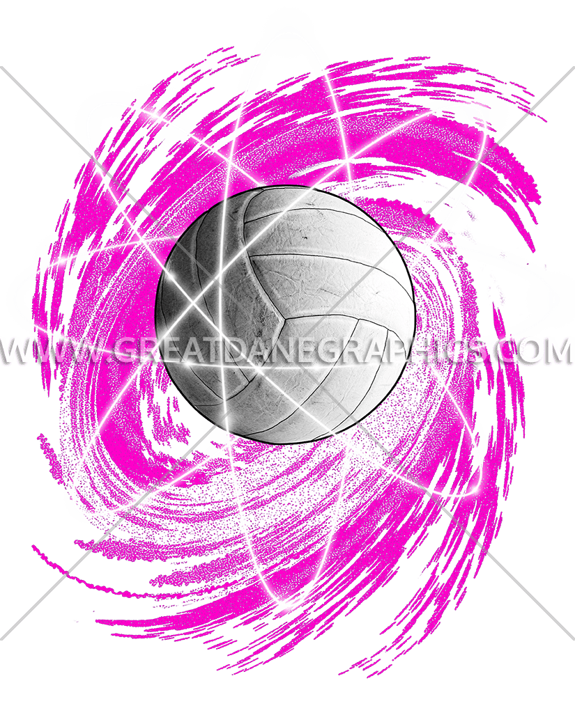 Pink Volleyball Clip Art T-Shirt – Cliparts