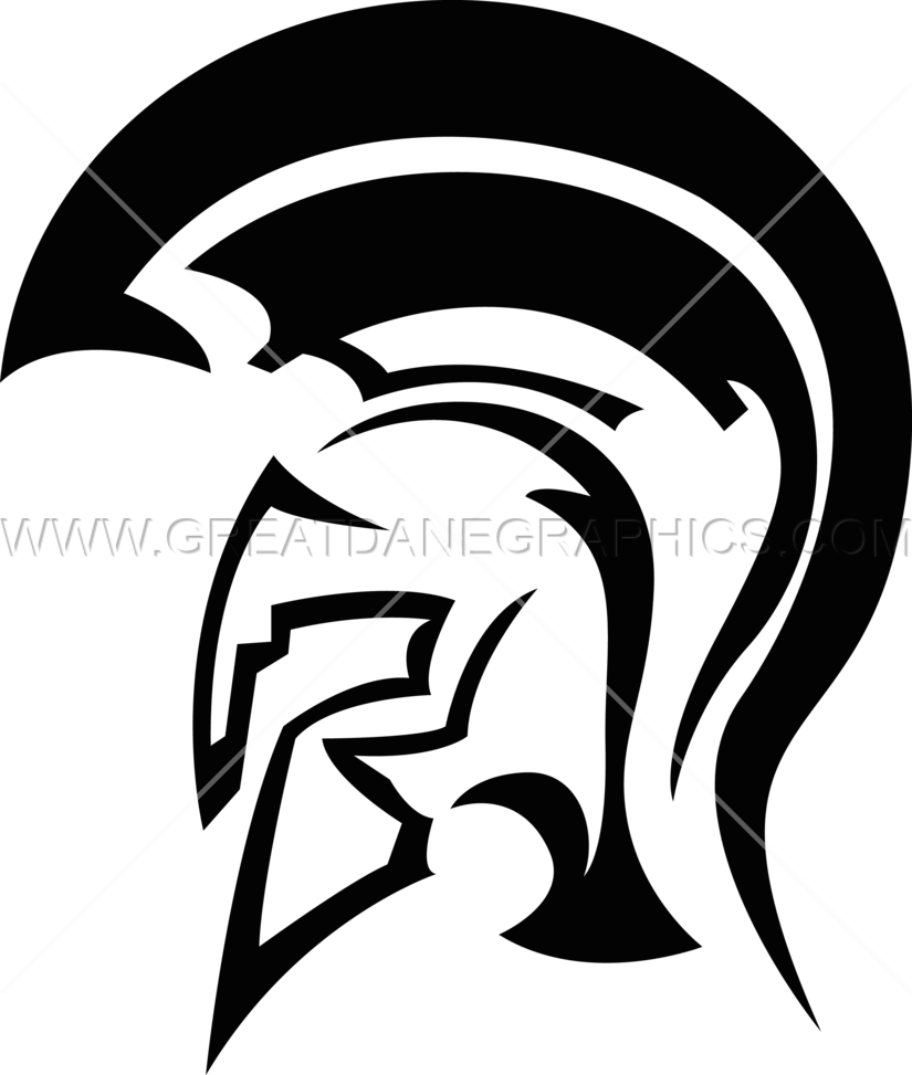 spartan logo png spartan helmet production ready artwork for t shirt printing 3155