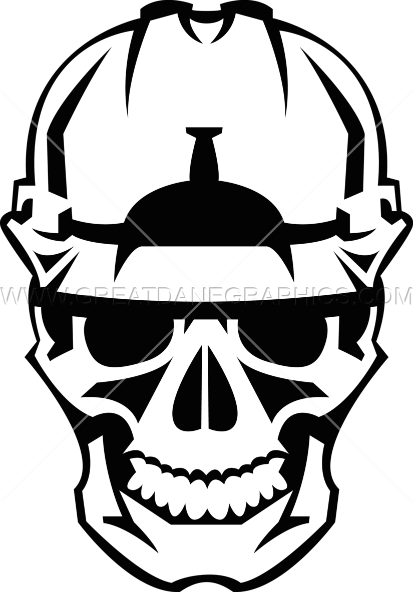Construction Hat Amp Skull Production Ready Artwork For T