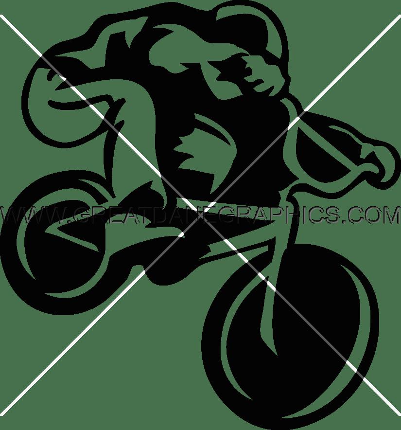 Bmx Rider Production Ready Artwork For T Shirt Printing