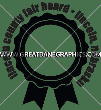 Award ribbon template production ready artwork for t shirt printing award ribbon template maxwellsz