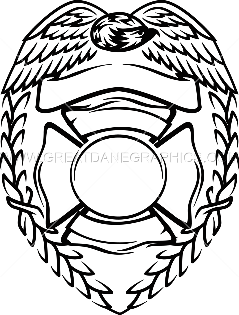 firefighter badge template firefighter id card printable police