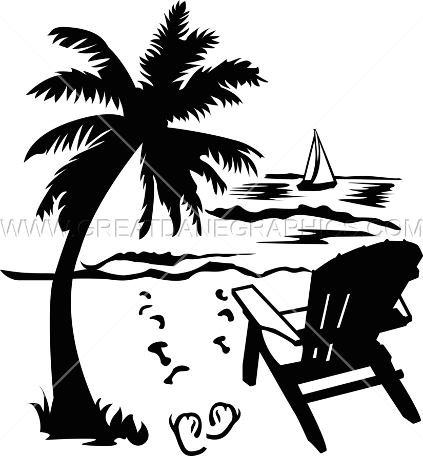 beach chair clipart black and white wwwpixsharkcom