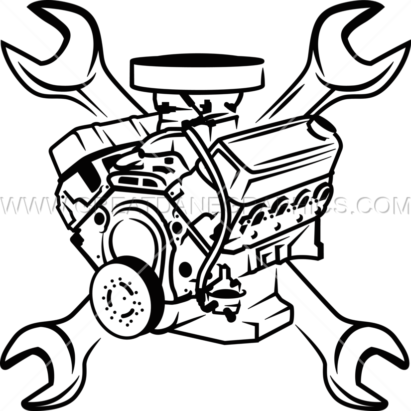 Engine Block Amp Wrenches Production Ready Artwork For T
