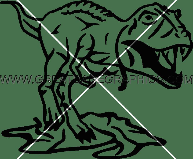 Colorful T Rex