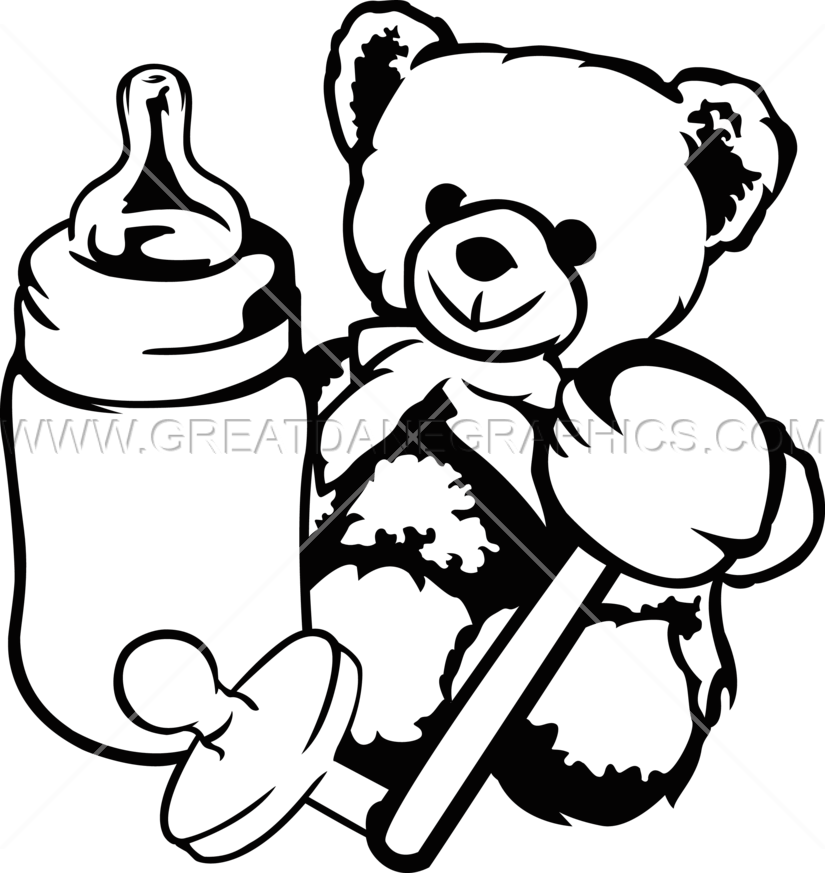 Boy Toys Drawing : Baby toys production ready artwork for t shirt printing