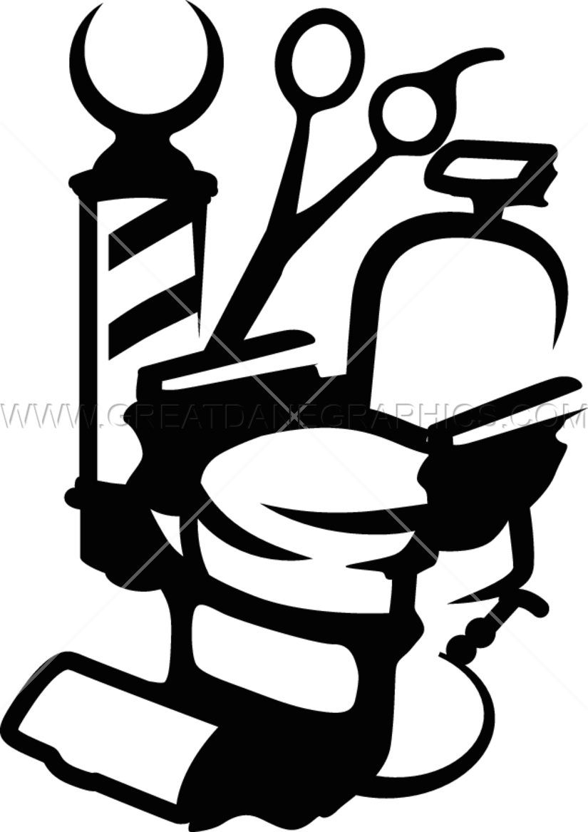 Barber chair vector - Barber Chair