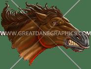 D-4115 Mustang Charge Digital Printing