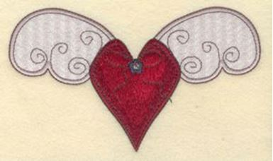 Crochet heart applique free pattern christacodesign
