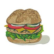 Cheese Burger for embroidery
