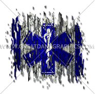 C-3088 EMS Digital Flag Digital Printing