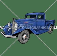 C-3158 REO Speedwagon Truck Digital Printing