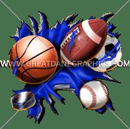 B-0827 All Sports Digital Printing