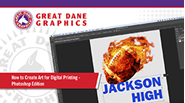 watch art for digital printing video