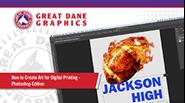 watch art for digital printing video