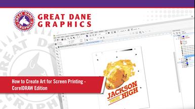 Video: Create T-Shirt Art for Screen Printing Using Corel