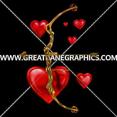 Valentine Bow U0026 Arrow