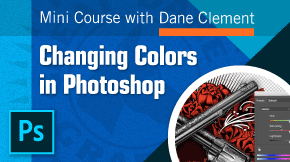 training video - changing colors in photoshop