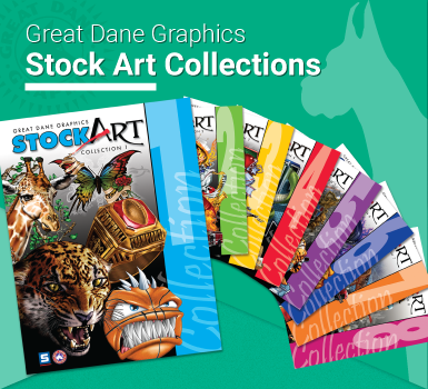 Great Dane Graphics Stock Art Collections