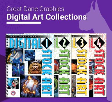 Digital Printing Stock Art Books